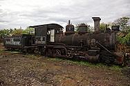 Old locomotive in Rafael Freyre, Holguin, Cuba.