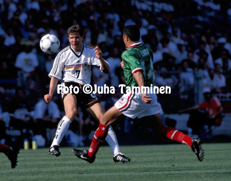 FIFA World Vup - France 1998.Andreas M?ller - Germany.©JUHA TAMMINEN
