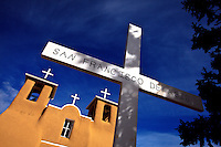 San Francisco de Asis Church. Ranchos de Taos, New Mexico.