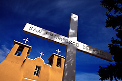 San Francisco de Asis Church. Ranchos de Taos, New Mexico.