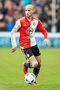 ROTTERDAM - Feyenoord - SC Cambuur , Voetbal , Seizoen 2015/2016 , Eredivisie , Feijenoord Stadion De Kuip , 06-03-2016 , Speler van Feyenoord Karim El Ahmadi