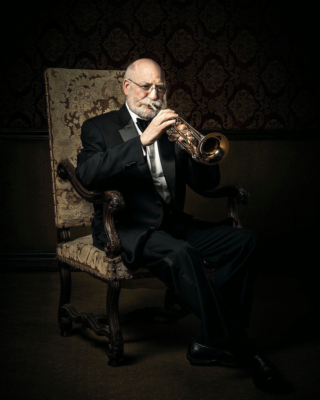 Ronald Romm International Trumpet Soloist / Clinician and former member of Canadian Brass. — © Jeremy Lock/