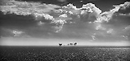 Oil rigs in the North Sea.<br /> Picture date: Tuesday July 7, 2015.<br /> Photograph by Christopher Ison &copy;<br /> 07544044177<br /> chris@christopherison.com<br /> www.christopherison.com