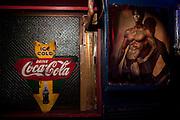 Decoration at bar Sazae