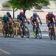 Elite cyclist compete in the Men's Pro, category I (35 miles) race Saturday, May 14, 2016, in Wilmington Delaware.