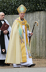 MAR 21 2013 Enthronement of the Archbishop of Canterbury