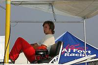 AJ Foyt IV at the Chicagoland Speedway, September 11, 2005