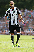17.08.2016 - Villar Perosa - Vernissage -  Juventus A - Juventus B  nella  foto: Gonzalo Higuain - Juventus