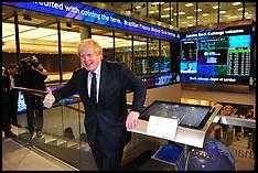 FEB 12 2013 Boris Johnson Opens the London Stock Exchange