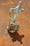 Cemetery in Gaspar, Ciego de Avila, Cuba.