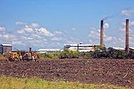 Sugar mill in Jesus Menendez, Las Tunas, Cuba.