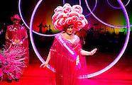 ROTTERDAM - Karin Bloemen na afloop van haar voorstelling Cirque Stiletto 3 in het nieuwe Luxor thea