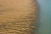 21/10/2005. Amazon (Brasil). Documentation of a very bad drought on the Amazon region.  Aerials of rio Madeira near Nova Olinda do Norte...©Daniel Beltra/Greenpeace