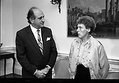 1989 - Elaine Spence At The Dept Of Foreign Affairs.  (T6).