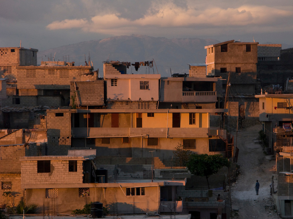 Port Au Prince, Haiti. Photo by Ben Depp 1.23.2009