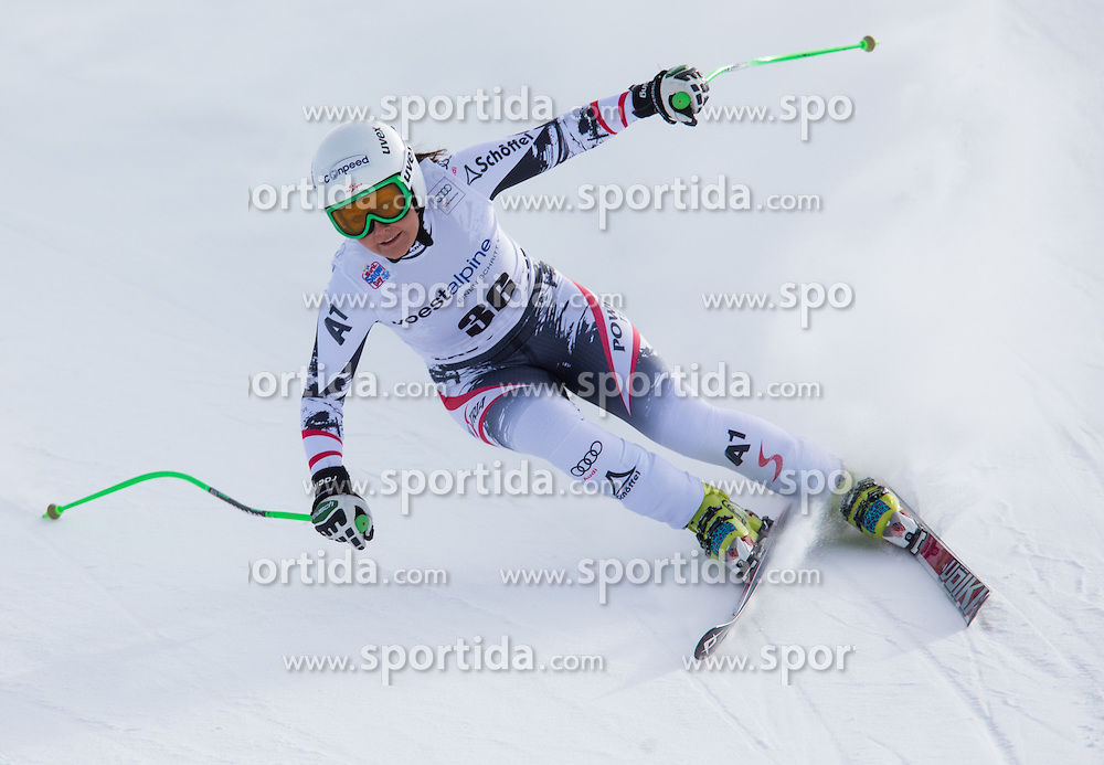 11.01.2014, Kalberloch, Zauchensee, AUT, FIS Ski Weltcup, Abfahrt, Damen, Bewerb, im Bild Tamara Tippler (AUT) // Tamara Tippler of Austria in action during ladies downhill of the Altenmarkt Zauchnesee FIS Ski Alpine World Cup at the Kaelberloch course in Zauchensee, Austria on 2014/01/11. EXPA Pictures © 2014, PhotoCredit: EXPA/ Johann Groder