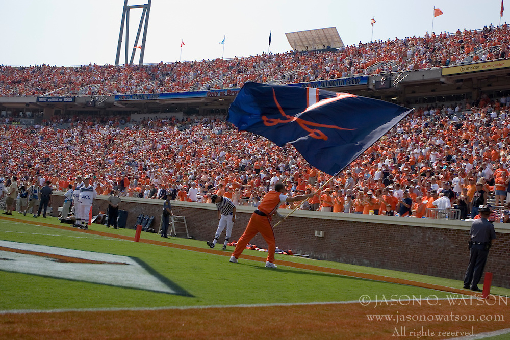 The Virginia Cavaliers defeated the Duke Blue Devils 23-14 at Scott Stadium in Charlottesville, VA on September 8, 2007  With the loss, Duke extended their longest-in-the-nation losing streak to 22 games.