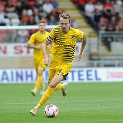 Chris Lines of Bristol Rovers - Mandatory byline: Neil Brookman/JMP - 07966386802 - 29/08/2015 - FOOTBALL - Matchroom Stadium -Leyton,England - Leyton Orient v Bristol Rovers - Sky Bet League Two