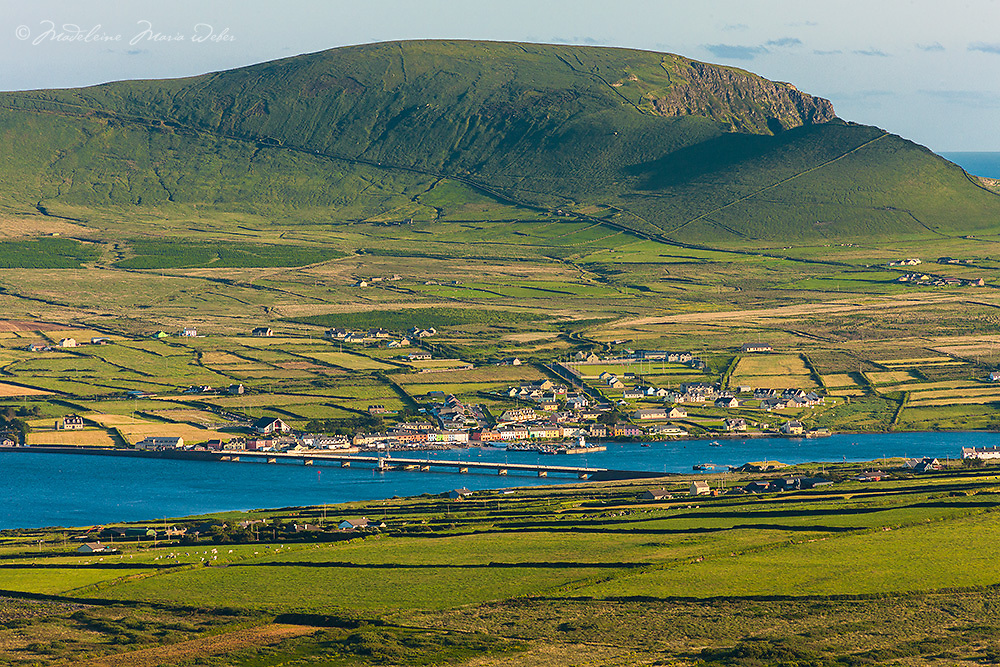 Portmagee Village, County Kerry, Ireland
