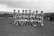 03/09/1967<br /> 09/03/1967<br /> 3 September 1967<br /> All-Ireland Minor Hurling Final: Cork v Wexford at Croke Park, Dublin.<br /> The Wexford team.