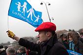 Manif pour tous, Protest against the homosexual marriage law project, Paris