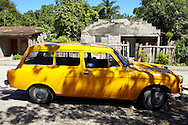 Station wagon in Yara, Granma, Cuba.