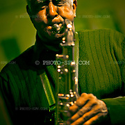 Ernie Butler plays the sax.