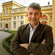 Pawel Jaskanis director of Wilanow Palace Museum in Warsaw Poland