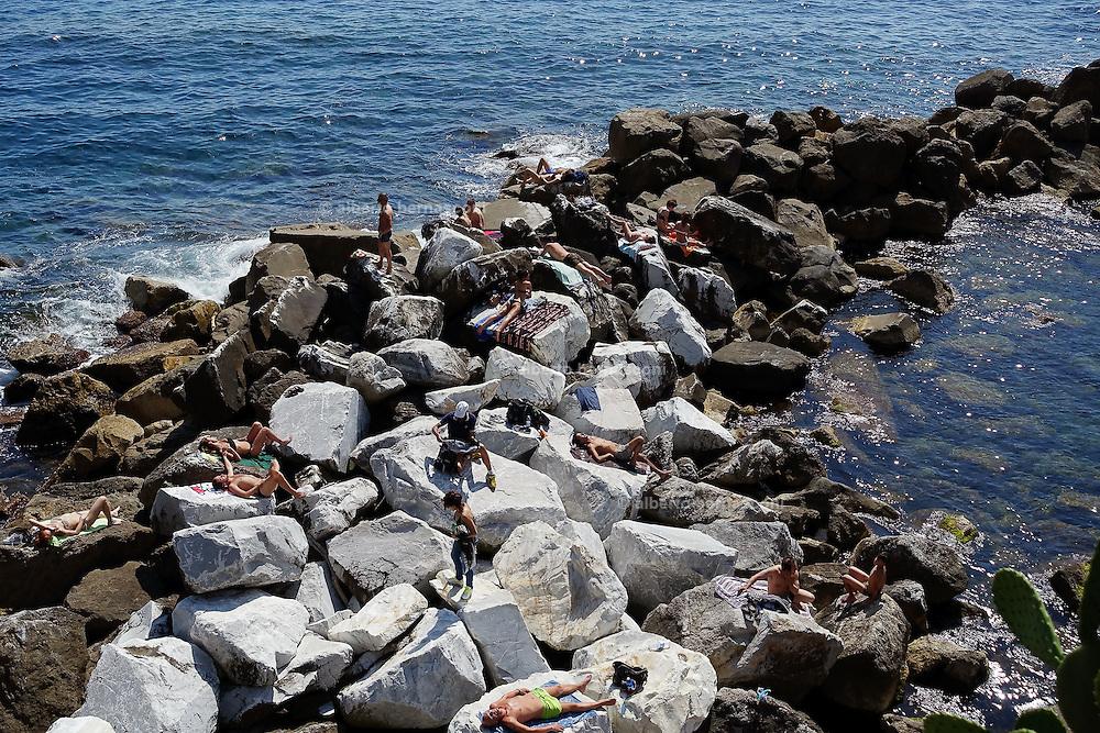 Italy. Liguria, Levanto, 5 Terre