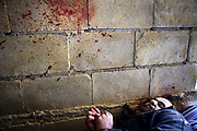 Seven executed men were discovered in an abandoned house south of Idlib, Province of Idlib, Syria on February 21. All victims were reportedly detained by syrian police two monthes before. All victims were handcuffed and got a shot in the head.
