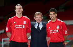 110203 Liverpool sign Suarez & Carroll