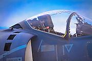 """US Marine Harrier """"Jump"""" Jet"""