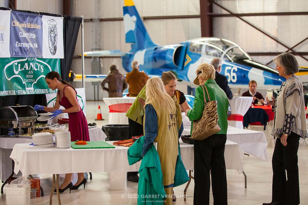 Fashionable vendors, Planes and Cars at the Santa Fe Airport, 2013 Santa Fe Concorso.