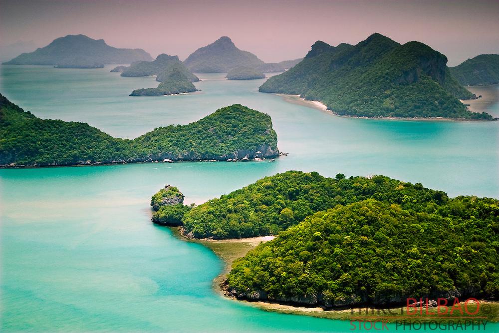 Ang Thong marine National Park. Gulf of Thailand. Thailand.