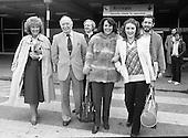 1980 - Wexford Opera Festival Stars Arrive.    (N44).