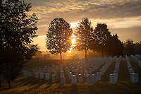 Sunrise at Camp Nelson National Cemetery in Nicholasville, Ky. on 9/4/12. Photo by David Stephenson