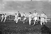 1962 - Dublin Senior Football team practice at O'Toole Park, Dublin