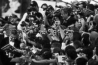 64 Mostra Cinema.nella foto George Clooney.foto di Stefano Meluni