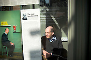 UK. London. School of Life in Marchmont Street, London.  Photo shows Philosopher and member of the faculty Alain de Botton..Photo@Steve Forrest/Workers' Photos