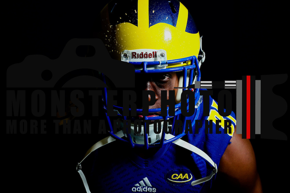 Photo of Delaware Running back Wesley Hills (31) taken Sunday, August 14, 2016, at Delaware Field House Facility on the campus of the university of Delaware in Newark.