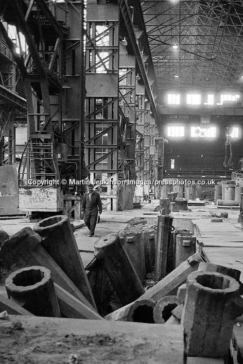 Norfolk Melting Shop, Firth-Brown Sheffield 1982.