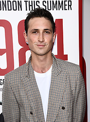 Ben Lloyd- Hughes attends 1984 Play press night at The Playhouse, Norththumberland Avenue, London on Thursday 18 June 2015