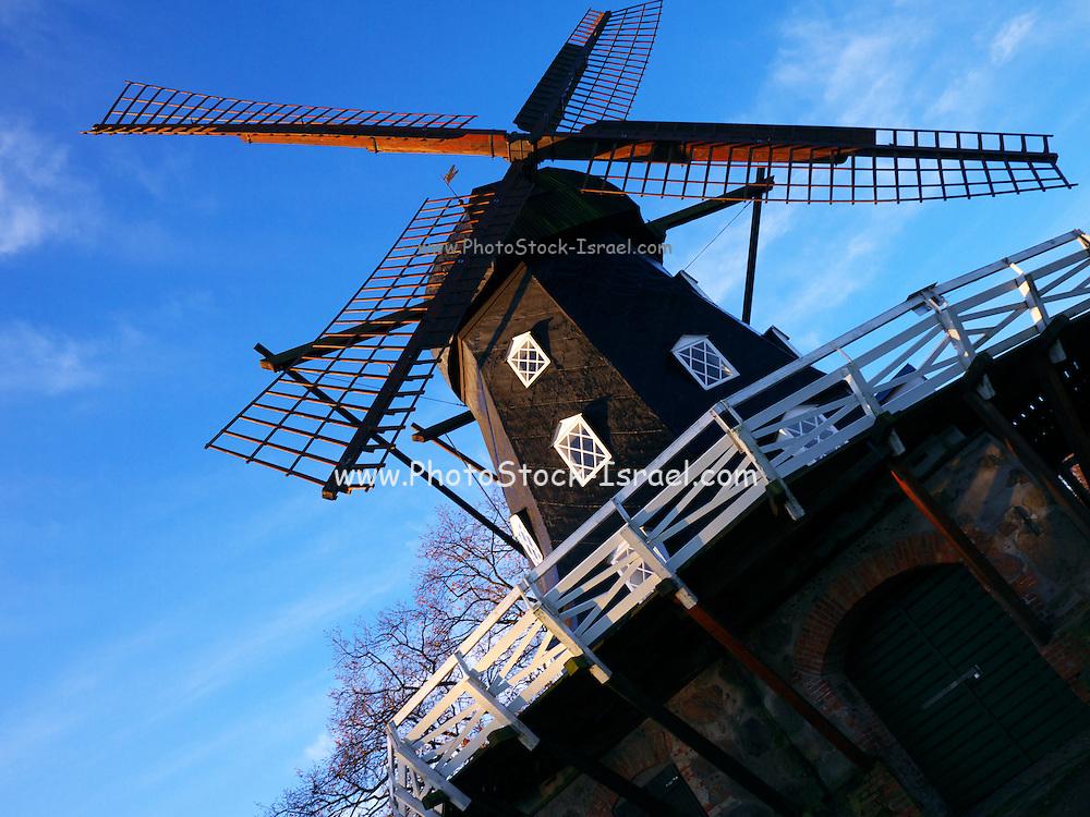 Windmill in Castle Park, Malmo, Sweden