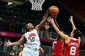 Basketball, Womens - Turkey vs USA (Preliminary Round Group A)
