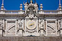palacio real royal palace in madrid spain