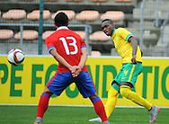 CAPE TOWN, SOUTH AFRICA - Sunday 27 September 2015: Katlego Mohamme of South Africa during the U17 International friendly soccer match between South Africa v Chile at Athlete Stadium. (Photo by Roger Sedres/ImageSA)