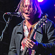 Lukas Nelson performing at the Heartbreaker Banquet, SXSW 2014, Austin, Texas, March 13, 2014.