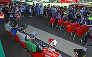 Media Day Press Conference .Media Day/Shakedown.Red Devil Energy Drink Rally of Queensland.Nambour Showgrounds, Nambour, Sunshine Coast, Qld.8th of May 2009.(C) Joel Strickland Photographics.Use information: This image is intended for Editorial use only (e.g. news or commentary, print or electronic). Any commercial or promotional use requires additional clearance.