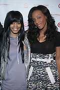 l to r: Teyana Taylor and Dawn Richards at The Rush Philanthropic Arts Foundation's 9th Annual Youth Holiday Party Sponsored by Target. The annual holiday event brings together over 500 at-risk young people affiliated with the 50 youth arts organizations Rush Philanthropic supports...In celebration of the creative energy of our New York City Youth, this annual holiday event is all about showing love and support for the kids, and letting them know that their hard work and many accomplishments through out the year don't go unnoticed.