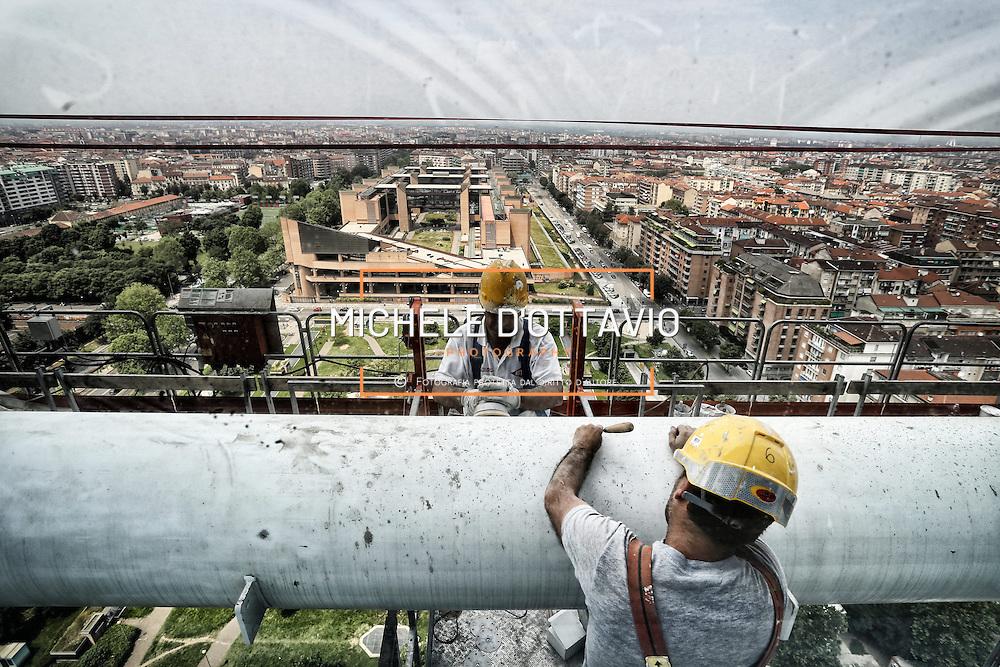 Cantiere Grattacielo Intesasanpaolo Torino/ giugno 2013